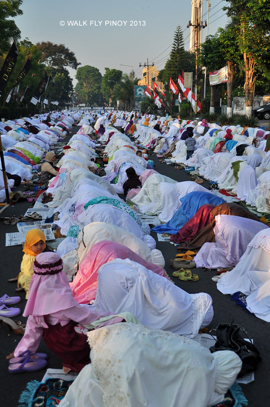 Idul Fitri (End of Ramadan) in Bondowoso, Indonesia