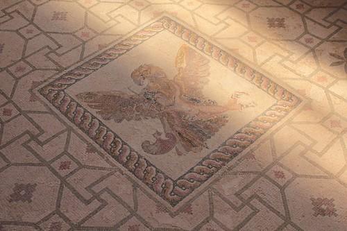 Paphos, Parco archeologico: mosaici della casa di dioniso