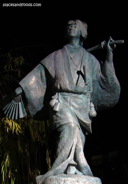 Statue of Izumo no Okuni 出雲の阿国