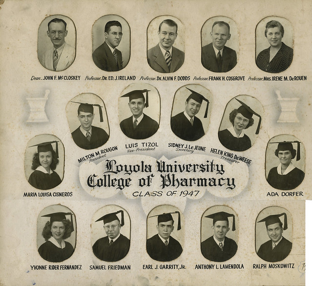 Pharmacy Graduate Composite Post Digital Reconstruction