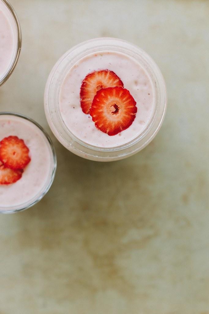 pink smoothie
