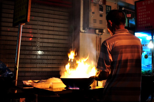 Shanghai Rice Cakes - Street Food - China