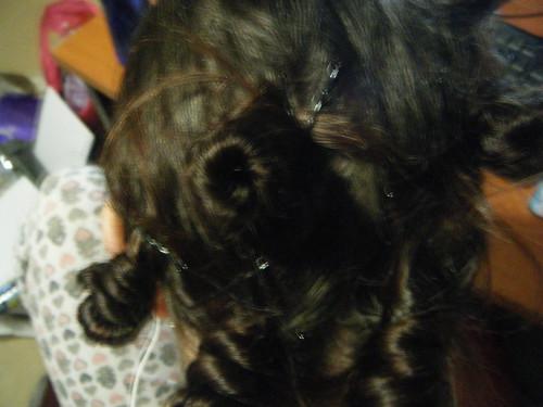 Hair buns Pintest
