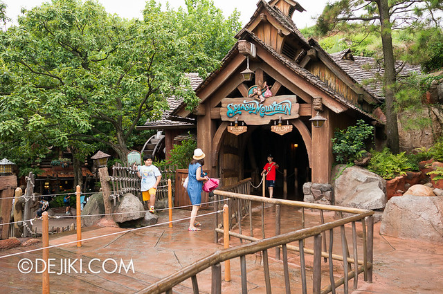 Splash Mountain - Queue Outdoor