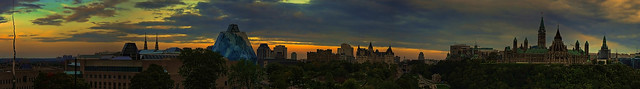 Panorama from Nepean Point