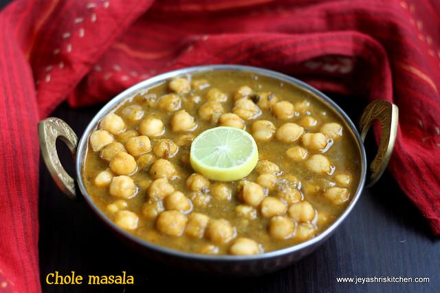 Chole- masala