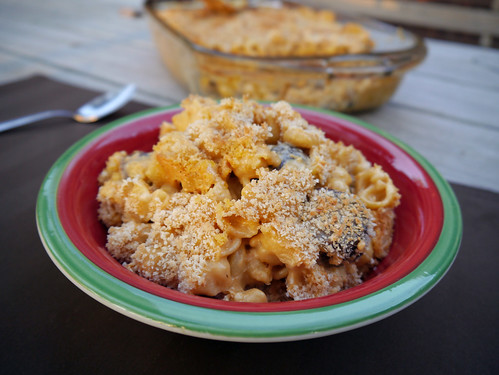 Mac-and-Cheese Monday - Twice-Baked Creamy Mac & Cheese with Sausage (0009)