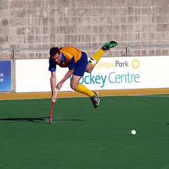 Men's Hockey Australian Masters Championships 2013 - .......and Spills