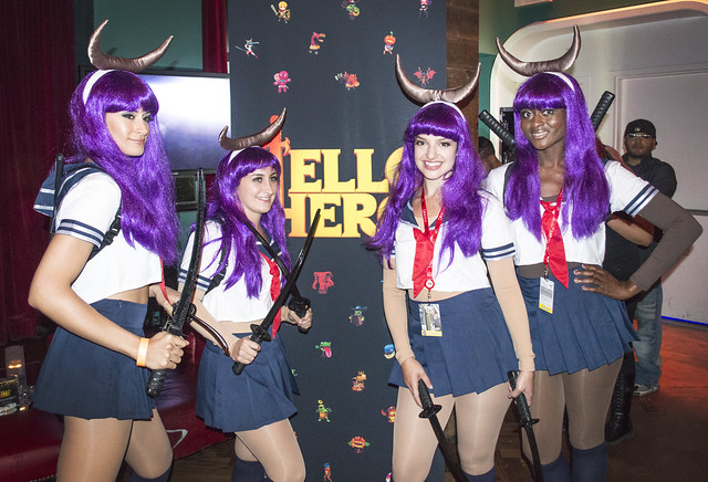 Anime Characters For Comic Con : Photos best womens costumes from ny comic con