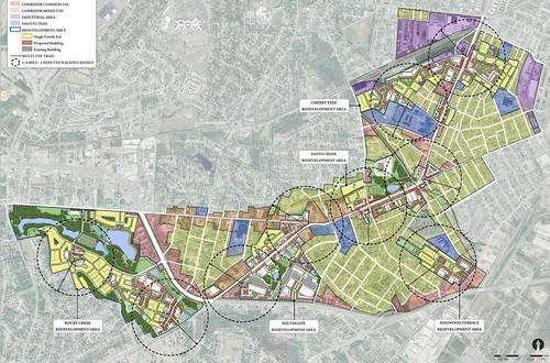 Augusta master planning map (courtesy of Augusta Sustainable Development Implementation Program)