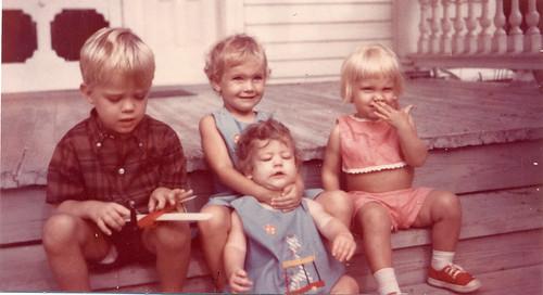 1968 Summer Jay Malenda Nicki & MEL Gainesville Texas
