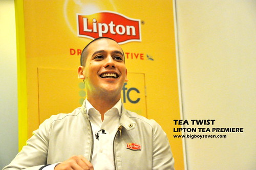 TEA TWIST Lipton Tea Premiere 3