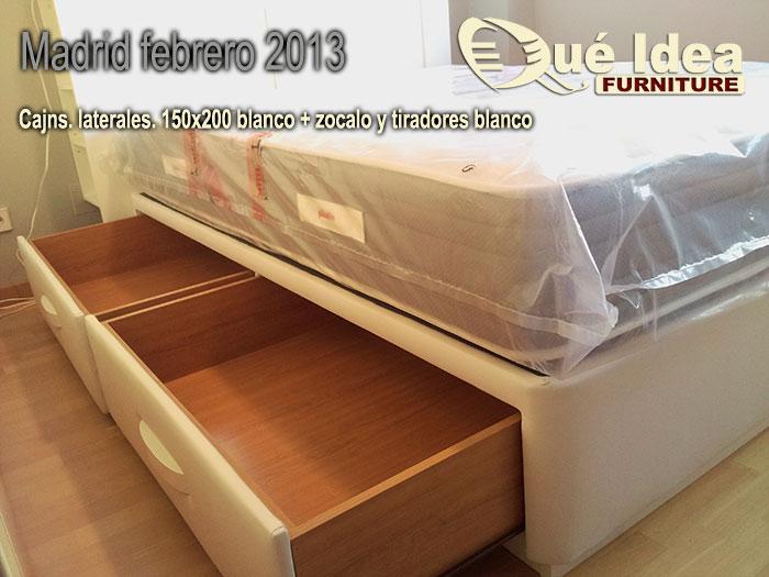 cama con cajones Madrid