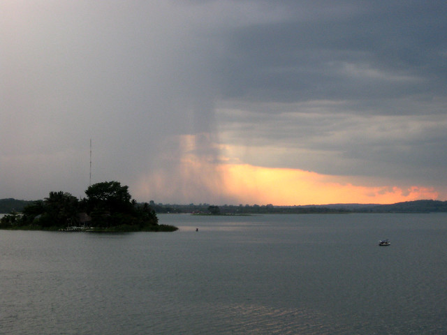 Lake Peten Itza, Guatemala