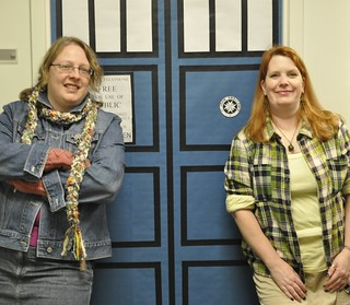 Rose, Amy, TARDIS