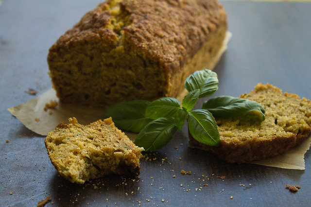 Pumpkin, Honey & Basil Bread