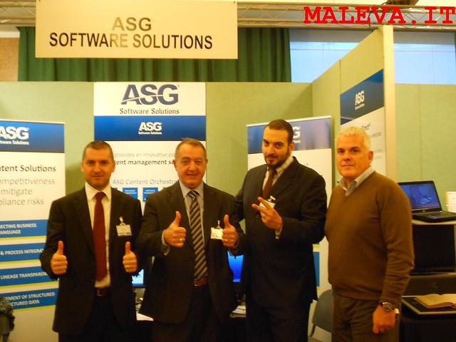 2 Maleva - 2 ASG - incontro stand ASG Roma OMAT 2013