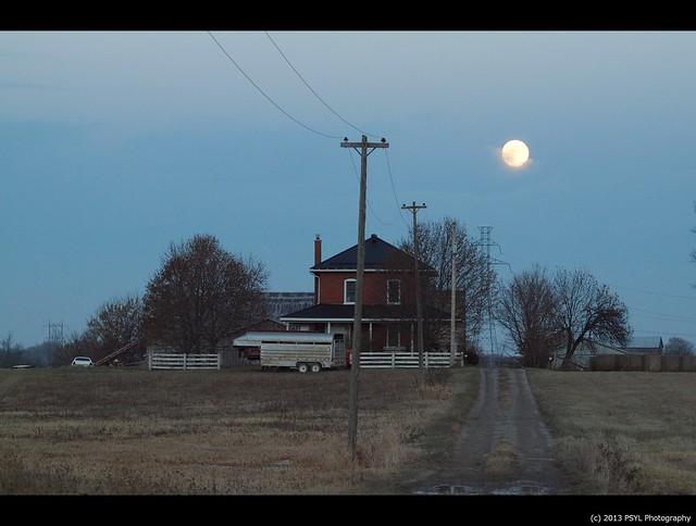 Rural moon