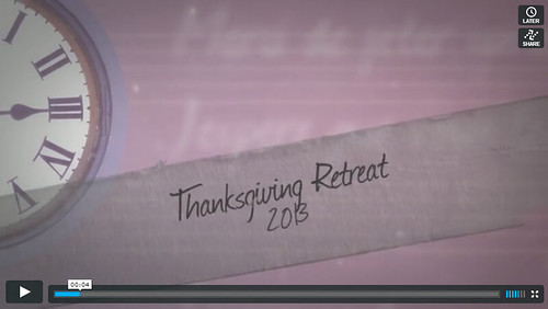 Thanksgiving Retreat Trailer