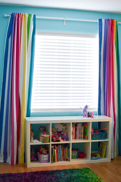 michael miller mighty stripe curtains