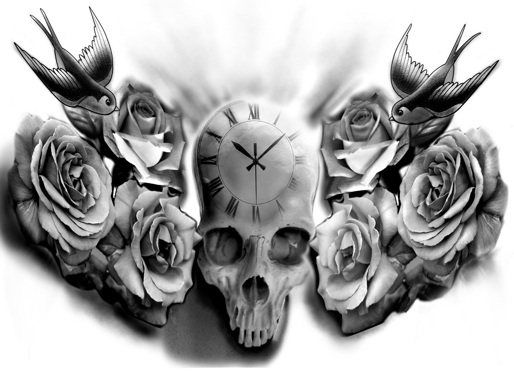 Tattoo Design Skull Design Tattoo Guy Flickr