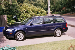 VW Passat 2003, from left, forward, at home