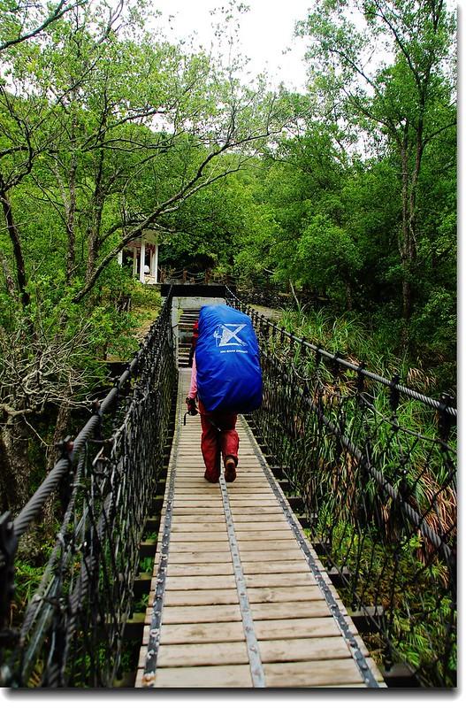 岳王亭吊橋 2