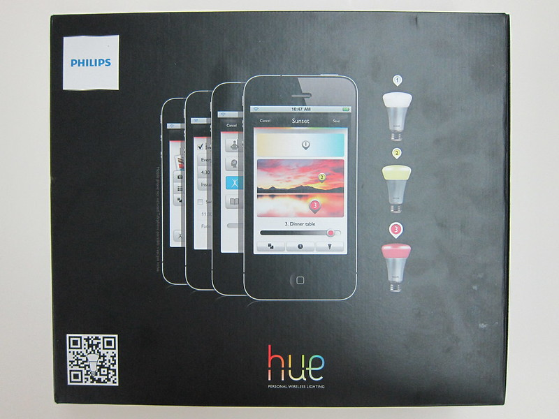Philips hue - Box Back