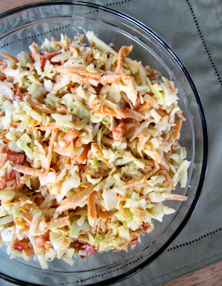 Coleslaw Greek Yogurt