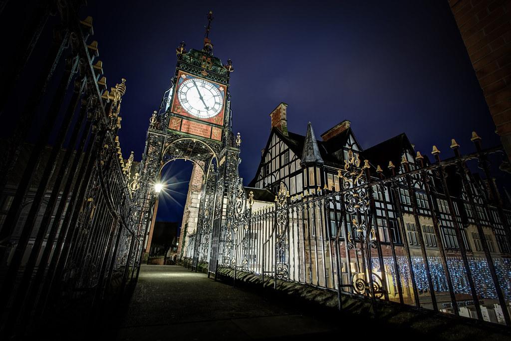 Chester Clock on Eastgate Street