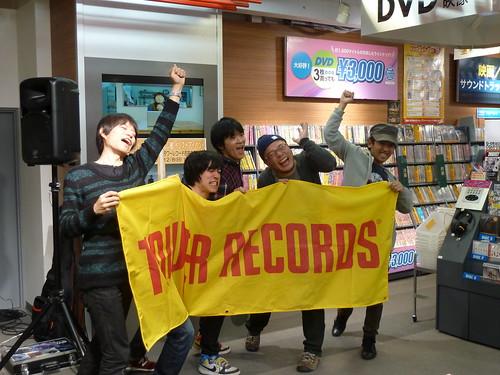 忘レ敵 夜の灯 発売記念インストアライブ@タワーレコード吉祥寺店