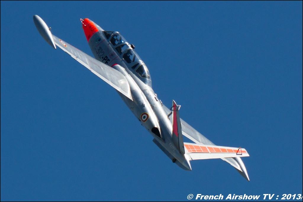 Fouga Magister,60 ans Patrouille de France , Meeting Aerien 2013