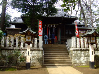 洗足池・千束八幡神社