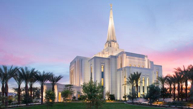 Tours Of New Mormon Temple