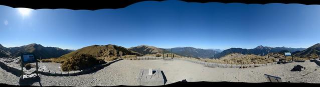 石門山視野全景圖