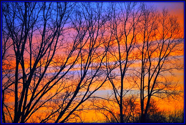 ~*~ colorful winter sunrise ~*~