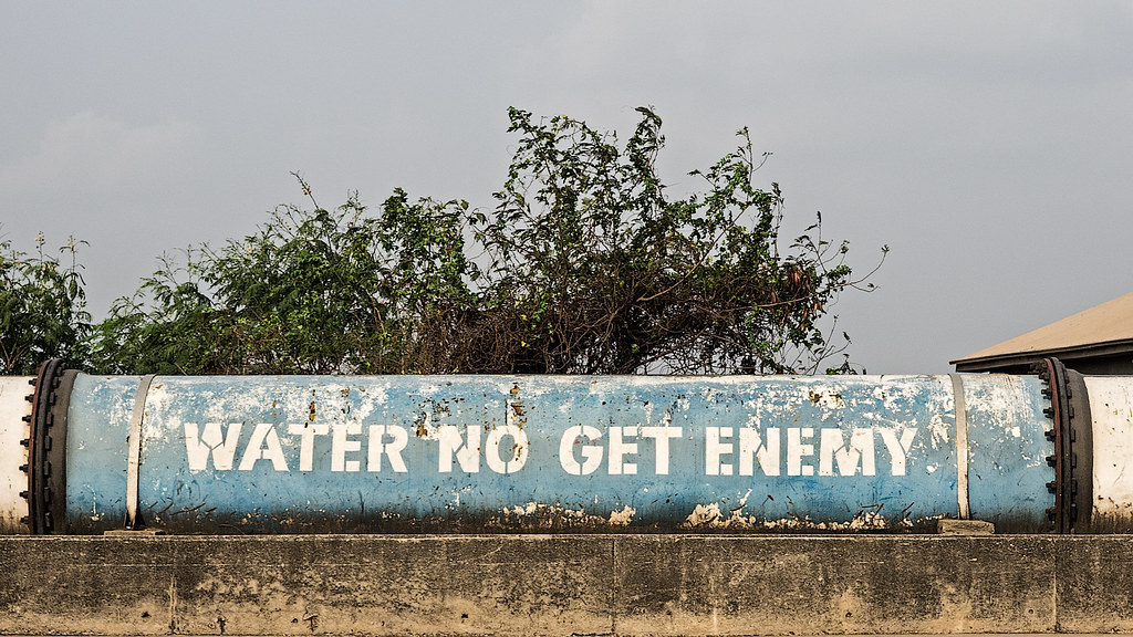 Water No Get Enemy | Also one of the song titles of the late
