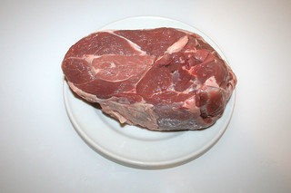 03 - Zutat Lammfleisch / Ingredient lamb meat