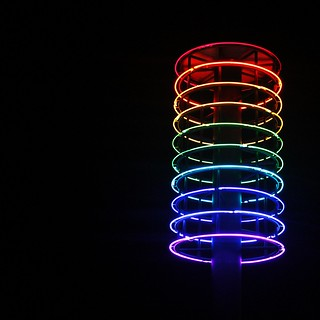 Wellington's Tower of Light Sculpture
