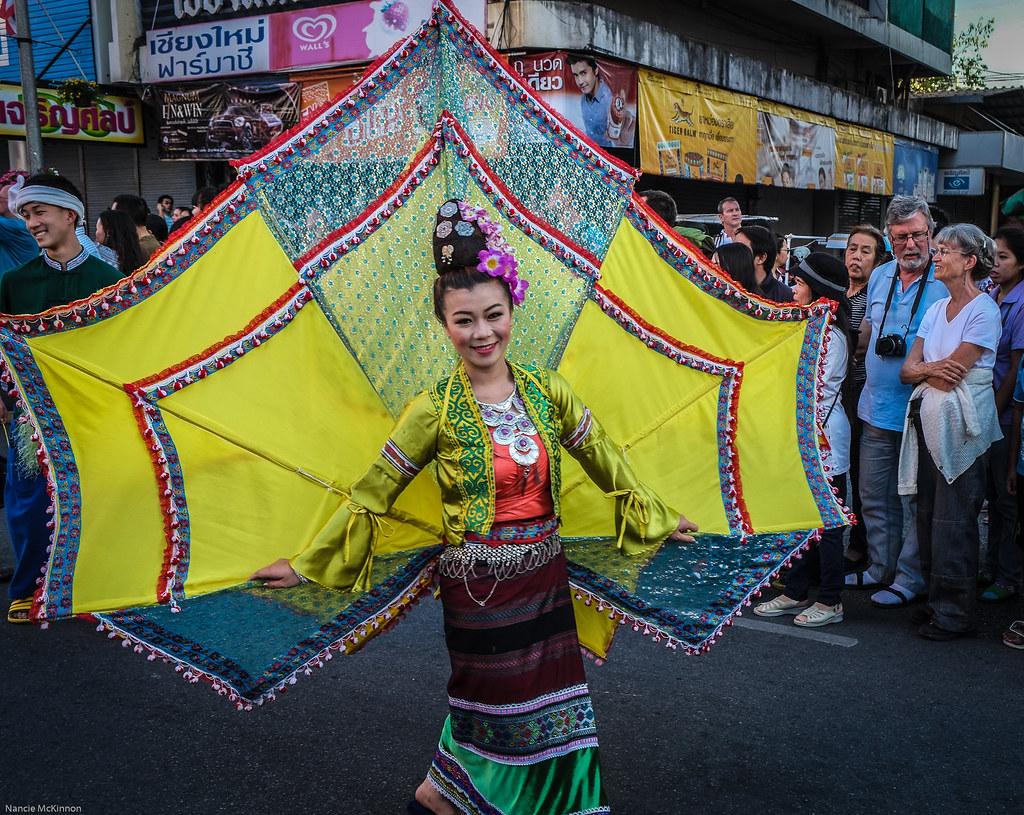 Thai Butterfly Chiang Mai Flower Festival 2014