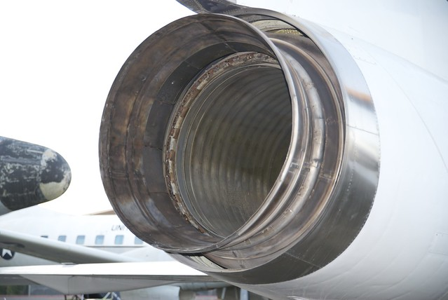F-106A engine exhaust