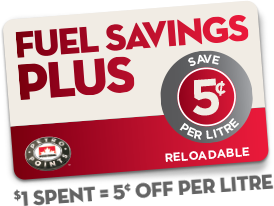 Fuel Savings Plus Reloadable