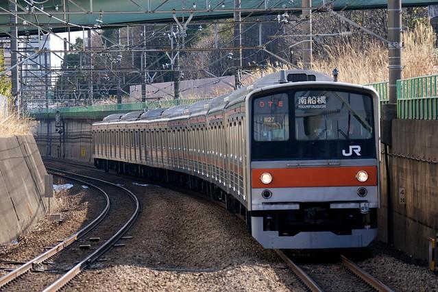 JR東日本 205系電車