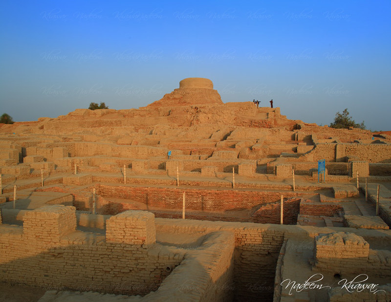 Ruins of Mohenjo-daro, UNESCO World Heritage Site