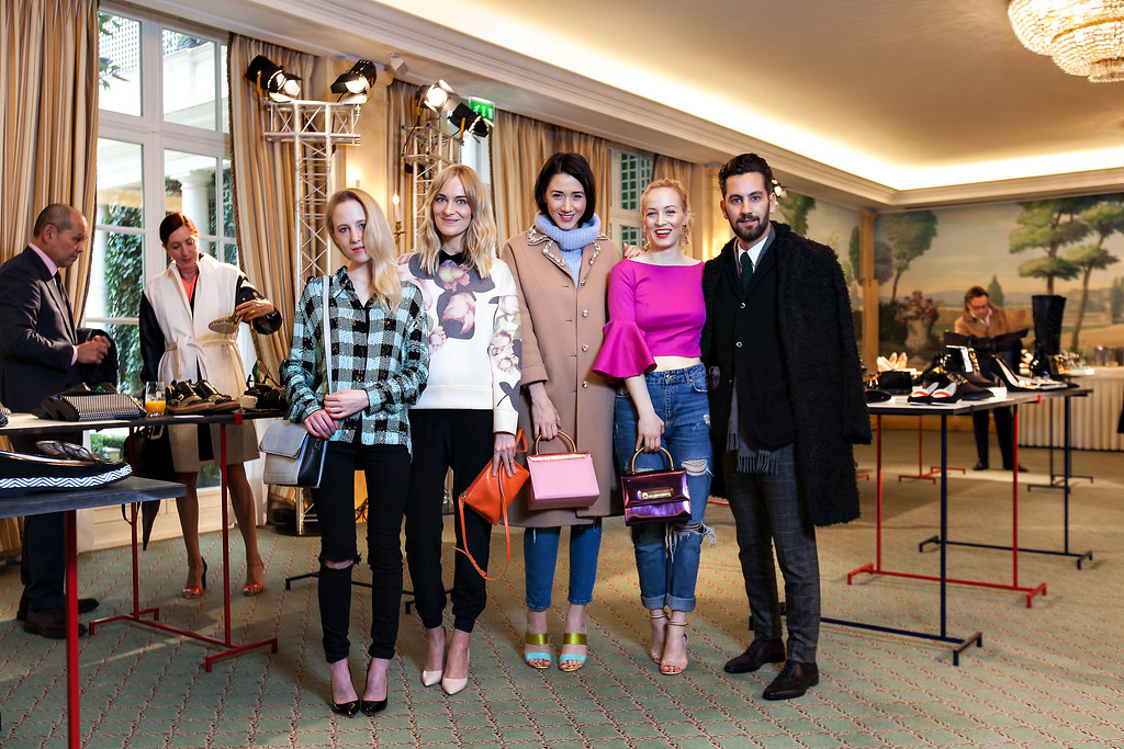 Prezentare colectie pantofi de dama Pollini de Nicholas Kirkwood la Paris Fashion Week 2014