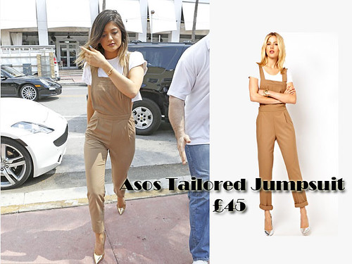Dungaree style jumpsuit trend