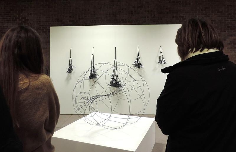 Jacques Samson, Vecteurs et embranchements, Art souterrain 2014, Montréal.