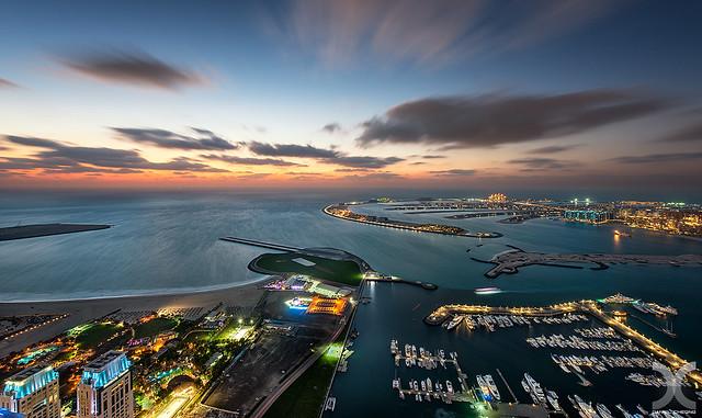 Palm Jumeirah Sunset