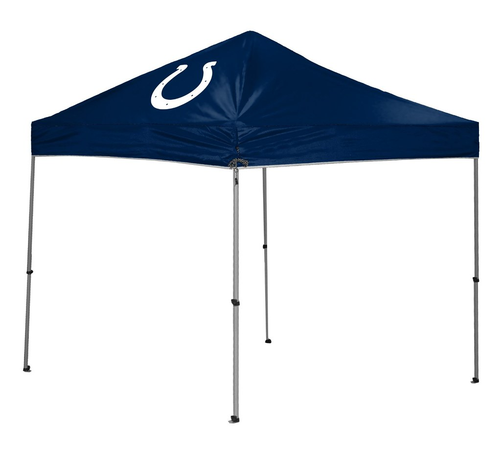 Indianapolis Colts TailGate Straight Leg Canopy, 9' x 9'