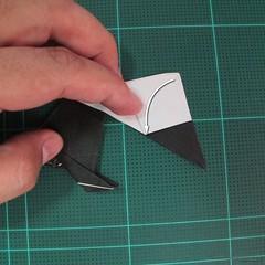 วิธีการพับกระดาษเป็นรูปจิงโจ้ (Origami Kangaroo) 028